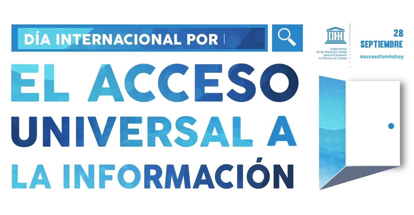 28 de septiembre – Día Internacional del Derecho de Acceso Universal a la Información