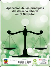 Aplicación de los principios del Derecho Laboral en El Salvador