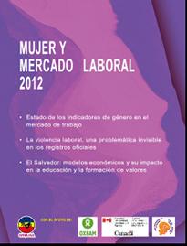 Mujer y Mercado Laboral El Salvador 2012