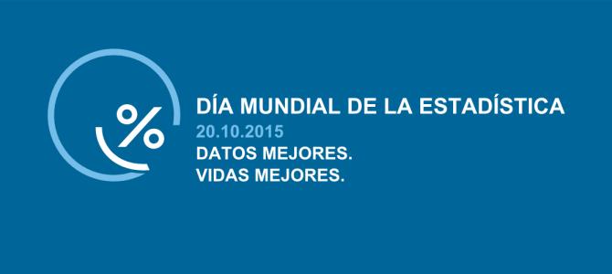 20 de octubre – Día Mundial de la Estadística (Cada cinco años, a partir de 2010)
