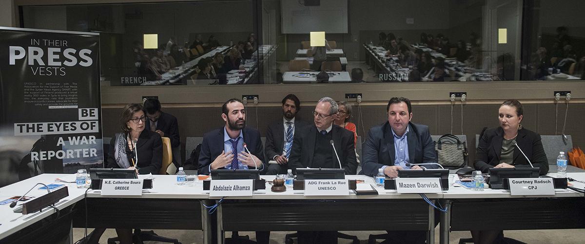 Lee más sobre el artículo 2 de noviembre – Día Internacional para Poner Fin a la Impunidad de los Crímenes contra Periodistas