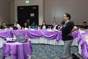 Capacitación a periodistas sobre actualización de legislación hacia la igualdad