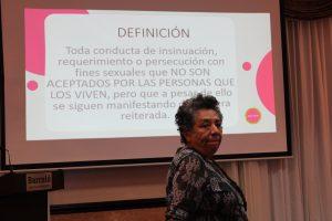 RED FEM realiza conversatorio con periodistas sobre acoso sexual