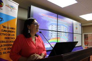 Ormusa, Amate y FEASIES realizaron el conversatorio Por un sistema social sin discriminación en El Salvador