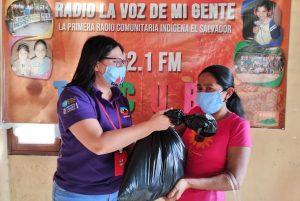ORMUSA entrega paquetes alimenticios a mujeres afectadas por emergencia del COVID-19