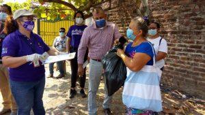 ORMUSA entrega 200 canastas básicas a mujeres de San Pedro Masahuat y San Antonio Masahuat