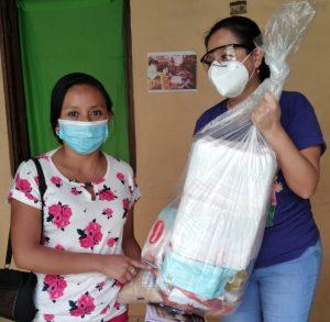Ormusa entrega ayuda humanitaria a mujeres en Tacuba