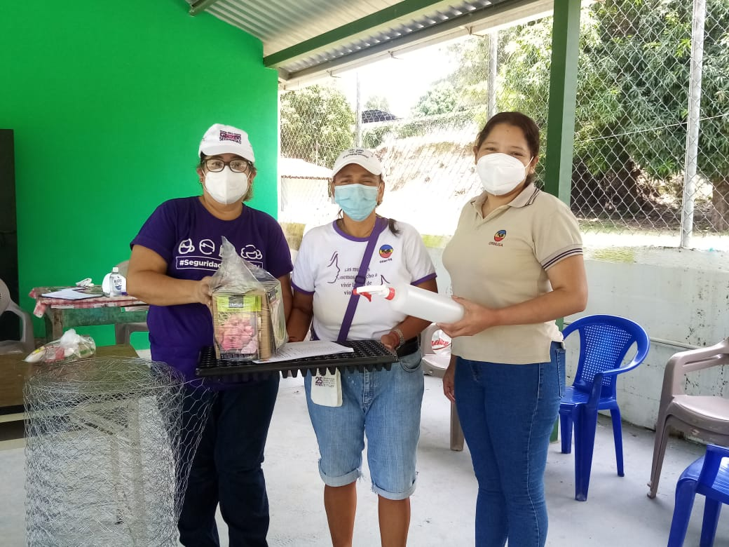 ORMUSA desarrolla proyecto de nutrición y huertos familiares en San Antonio Masahuat