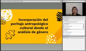 CNJ y ORMUSA realizaron seminario web sobre peritaje especializado de Antropología sociocultural para investigación de la violencia contra las mujeres