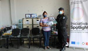 ORMUSA entregó materiales, equipo y mobiliario de oficina para fortalecer servicios de atención especializada en UNIMUJER-ODAC