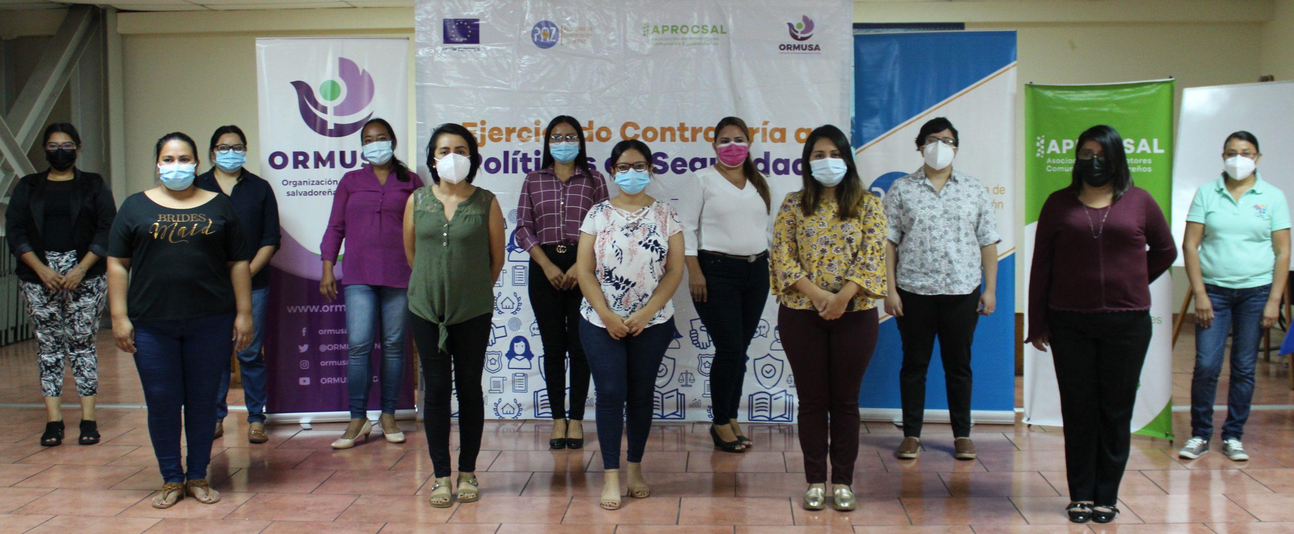 Inauguración del Curso de formación especializada dirigido a mujeres abogadas y defensoras populares para atención a mujeres víctimas de violencia