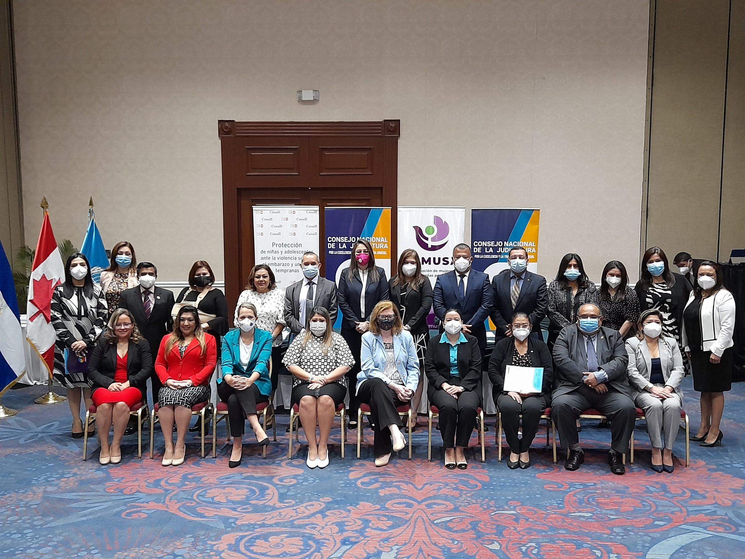 ORMUSA y CNJ clausuran diplomado especializado sobre victimología y derecho internacional de protección a DD. HH., de las mujeres