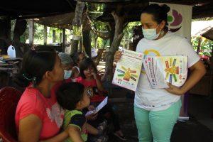 Lee más sobre el artículo ORMUSA en el territorio, realiza jornada sobre género y salud, en Comunidad La Chilín, Ciudad Arce.