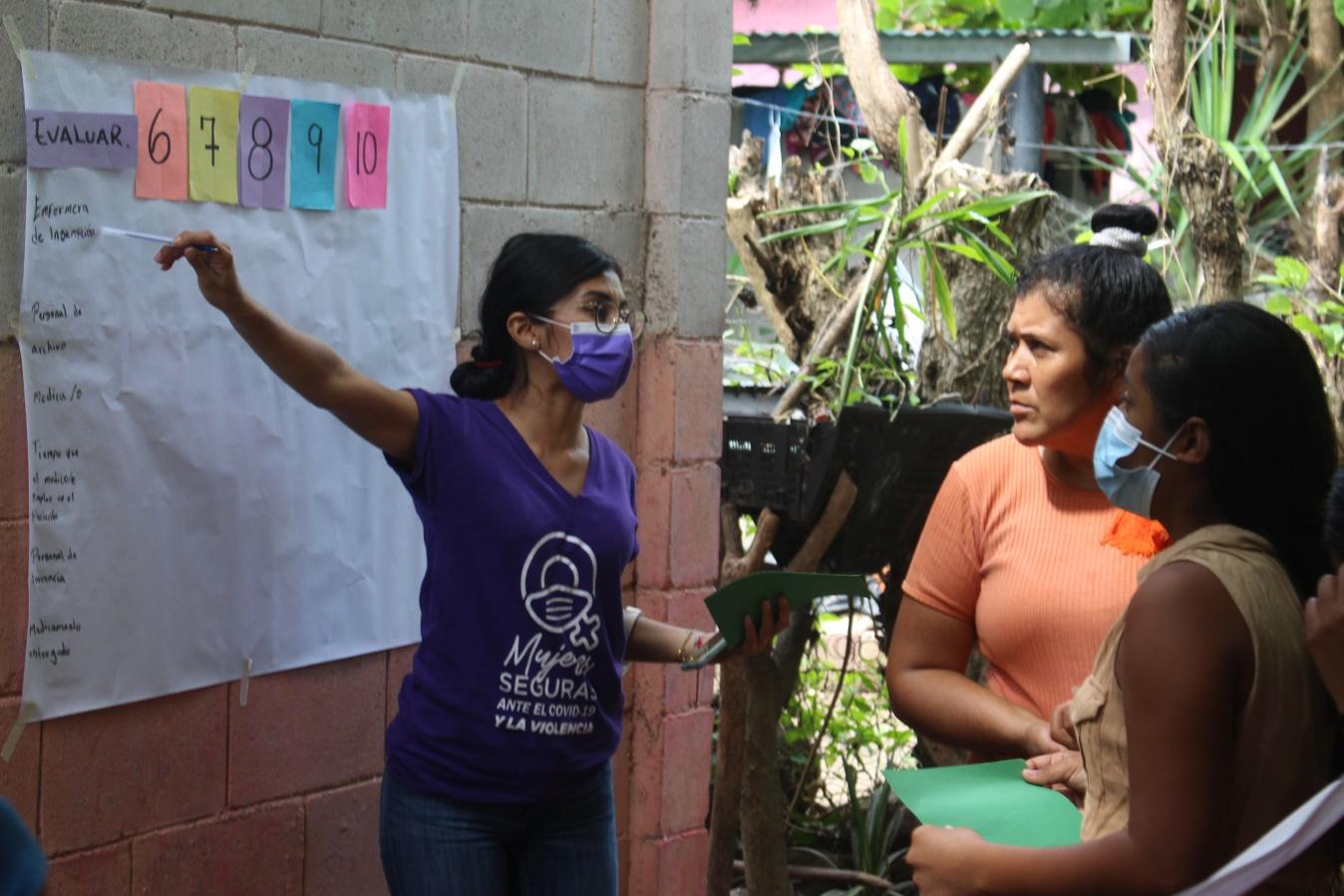 Lee más sobre el artículo ORMUSA en el territorio, crea junto a lideresas plan de trabajo en la Comunidad Los Jardines, Zacatecoluca