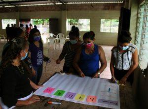 Lee más sobre el artículo ORMUSA en el territorio, realiza charla de Contraloría social con lideresas de San José Las Flores, Zacatecoluca