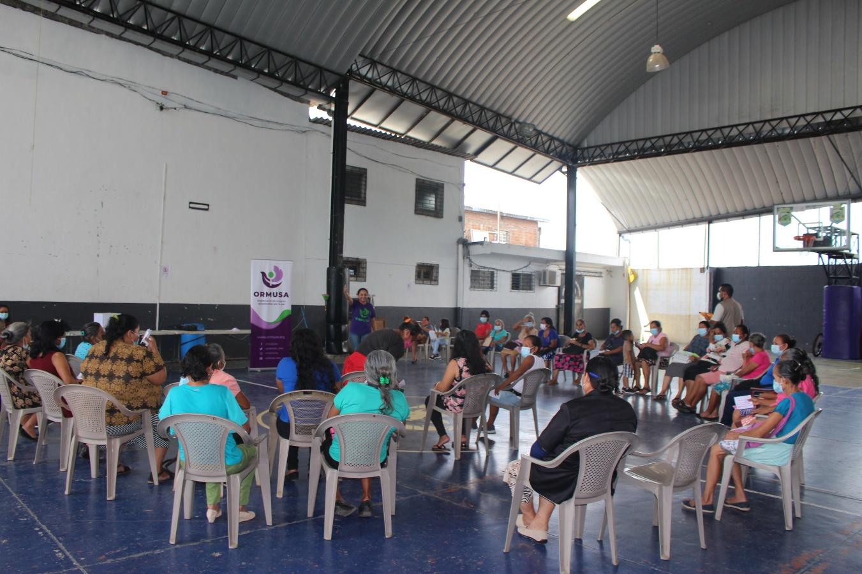 Lee más sobre el artículo ORMUSA en el territorio, realiza encuentro de mujeres lideresas de Ciudad Arce