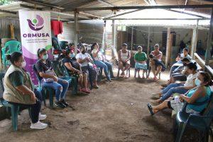 Lee más sobre el artículo ORMUSA en el territorio, realiza jornada con mujeres de Comunidad La Esperanza, Ciudad Arce