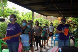Lee más sobre el artículo ORMUSA en el territorio, capacita sobre Participación Social en salud a mujeres de Tierra Blanca, Zacatecoluca